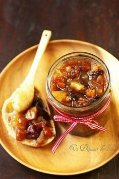 Christmas jam A sun lunch Veggie Recipes, Cooking Recipes, Healthy Recipes, Christmas Jam, Compote Recipe, Healthy Eating Tips, Food Menu, Food Gifts, Easy Meals