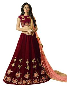 Shoppingover Indian Women's Embroidered Designer Lehenga ... https://www.amazon.com/dp/B06ZZ6NQ4C/ref=cm_sw_r_pi_dp_x_F2Y7yb5NNFR8C