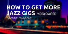Win the January Jazzfuel Gigs Package