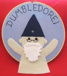 Naked Dumbledore! by Troublet42, via Flickr