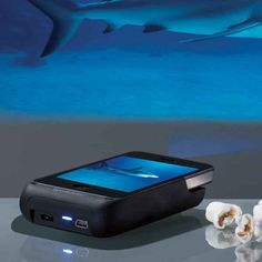 A pocket projector to display your screen wherever you go.