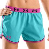 """Womens Under Armour 4"""" Shorts $13 Shipped on @BradsDeals"""