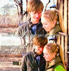Heartland Actors, Amy And Ty Heartland, Heartland Quotes, Heartland Ranch, Heartland Tv Show, Heartland Seasons, Want To Be Loved, When You Love, Ty Y Amy