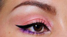 Coral eye look using Del Mar palette - beautylab