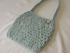 VERY EASY crochet puff stitch bag / purse tutorial - YouTube