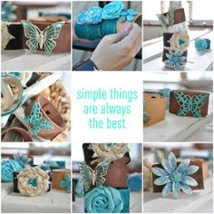 Simple Daisy: {vintage inspired cuff bracelets: DIY}