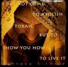 Fulfill does NOT mean abolish!  Yeshua - the Torah made flesh