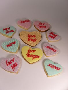 valentine cookies | by elizabethscakeemporium