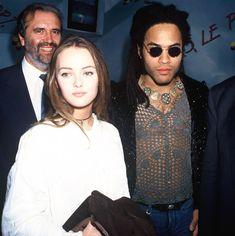 Lenny Kravitz et Vanessa Paradis