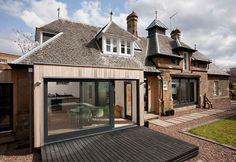 HELEN LUCAS ARCHITECTS is a versatile architectural practice providing bespoke designs to meet the demands of modern living and working. Garage Extension, Cottage Extension, Extension Ideas, Garden Room Extensions, House Extensions, Kitchen Extensions, Garden Architecture, Amazing Architecture, 1930s House