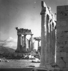 The Erechtheion - Acropolis of Athens. Walter Hege, 1928-29