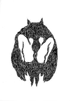 La bête/ dessins - vladimir mavounia-kouka