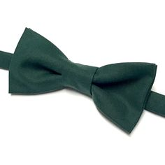 A personal favorite from my Etsy shop https://www.etsy.com/ca/listing/565468999/forest-green-bow-tie-solid-green-bow-tie