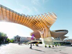 J. MAYER H. Metropol Parasol | Ein aufsehenerregendes Architekturprojekt in der Altstadt von Sevilla