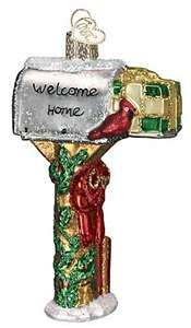 Old World Christmas Ornaments - Welcome Home Glass Ornament - 2006