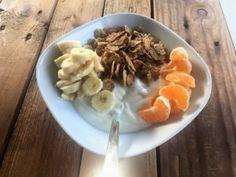 Ontbijt met yoghurt of kwark