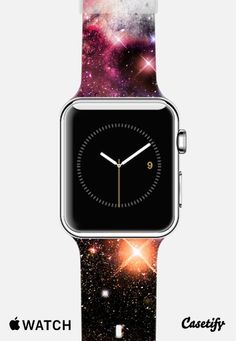 Nebula Galaxy Stars by Organic Saturation Apple Watch Band | @Casetify