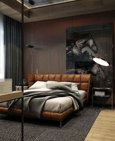 80 Men's Bedroom Ideas – A List of the Best Masculine Bedrooms - InteriorZine