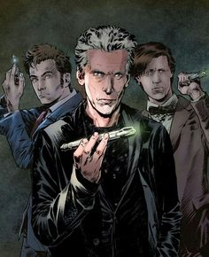 THE THREE DOCTORS - 10,11 AND 12.