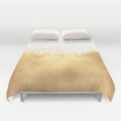Brushed Gold Duvet Cover