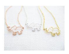 Winzige 3 Herzen Halsketten gold Silber und Rotgold Herz