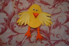 Easter Chick Handprint Craft