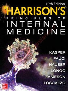 Harrison Principles of Internal Medicine Edition pdf Medical Sites, Medical Textbooks, Free Textbooks, Medical Students, Medicine Notes, Medicine Student, Medicine Book, Internal Medicine, Harrison Medicine