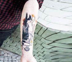 Woman tattoo by Koit Tattoo