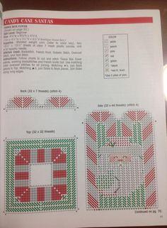 Candy Cane Santa Tissue Box Cover                                                                                                                                                                                 More