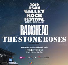 Jisan Valley Rock Festival 2012