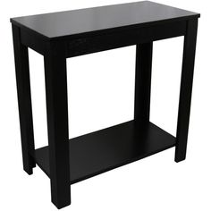 Sunpan Modern Rocco Modern Black End Table (555 CNY) ❤ Liked On Polyvore  Featuring Home, Furniture, Tables, Accent Tables, Black, Home Decor, Squaru2026