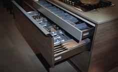 Cozinha Abruzzo - Gavetas innotech
