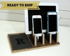 Double Phone & Tablet Charging Station