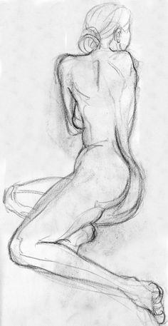 Woman Sketch on Pinterest