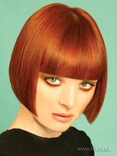 redhead bob hairstyle - Hairstyle Gallery