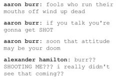 pfft burr no ones gonna SHOOT me that would be RIDICULOUS
