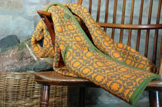 Welsh stick chair and Welsh tapestry