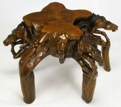 Wood Carved Unique Elephant Coffee Tables - Buy Wood Carved Unique ...