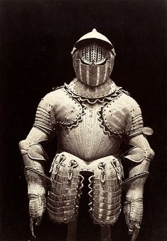 onlyoldphotography:  Charles Clifford: The Armor of Philip III, 1866