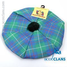 Inglis Tartan Tam. Free Worldwide Shipping Available