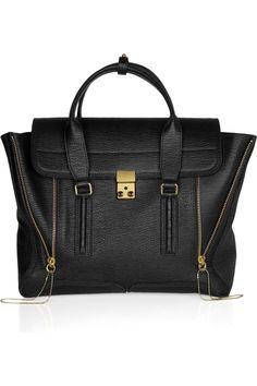 3.1 Phillip Lim|Pashli texured-leather tote|NET-A-PORTER.COM
