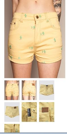Cactus shorts. ❤