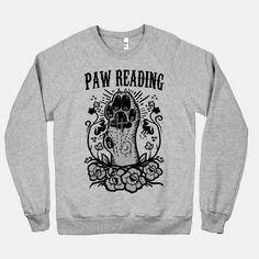 Paw Reading | T-Shirts, Tank Tops, Sweatshirts and Hoodies | HUMAN