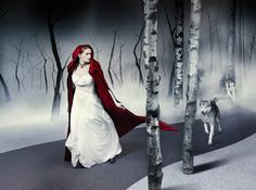 Little Red Riding Hood: Once Upon a Tile by InterfaceFLOR, photographer Michael Woolley