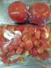 ✿トマトの冷凍保存❤スープなど加熱調理に便利 レシピ・作り方 by ラズベリっち|楽天レシピ