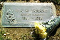 Fotos funeral gia marie carangi
