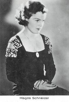 Magda Schneider Magda Schneider