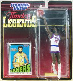 Wilt Chamberlain Timeless Legends Basketball Action Figure Starting Lineup 1995 | eBay