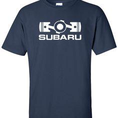 subaru boxer engine navyblue Camisetas 8f06cab5f72aa