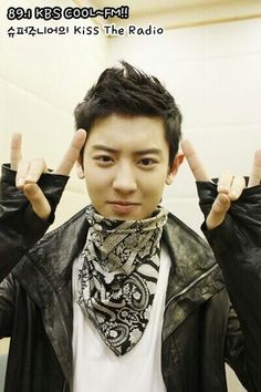 Chanyeol during the Wolf era! <3 His hair